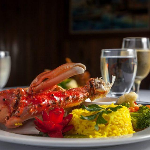 Belize Island Dining - Lobster