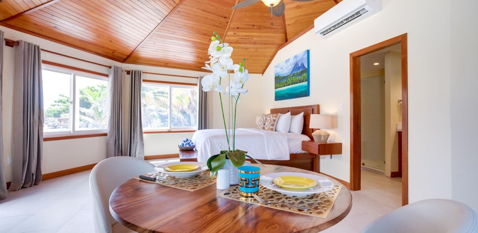 Belize Beach Cabana Dining Room