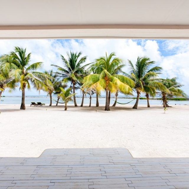 Glovers Reef Belize - View from your Belize Private Cabana