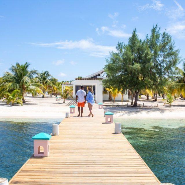 Glovers Reef Belize - Welcome Dock