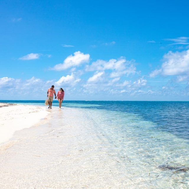 Glovers Reef Belize - Lovers walk