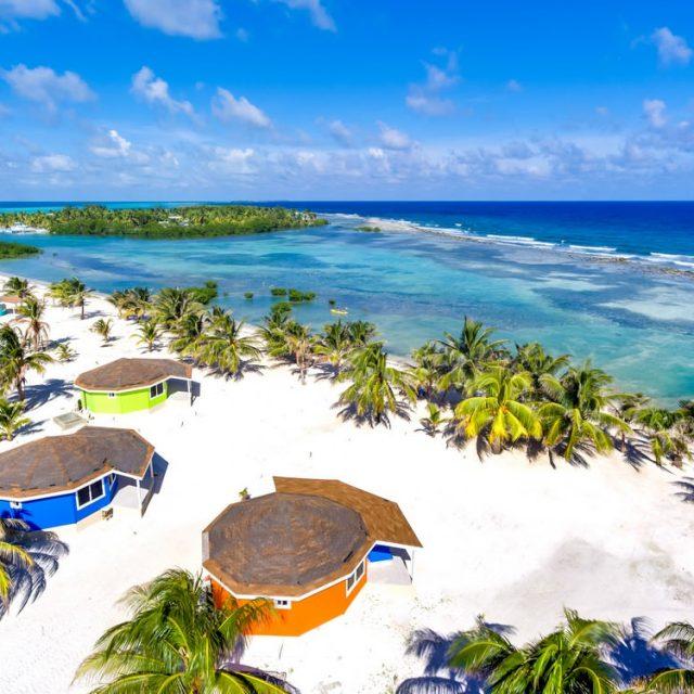 Manta Island Resort - Drone Shot