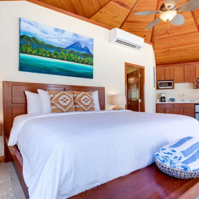Manta Island Resort Cabana