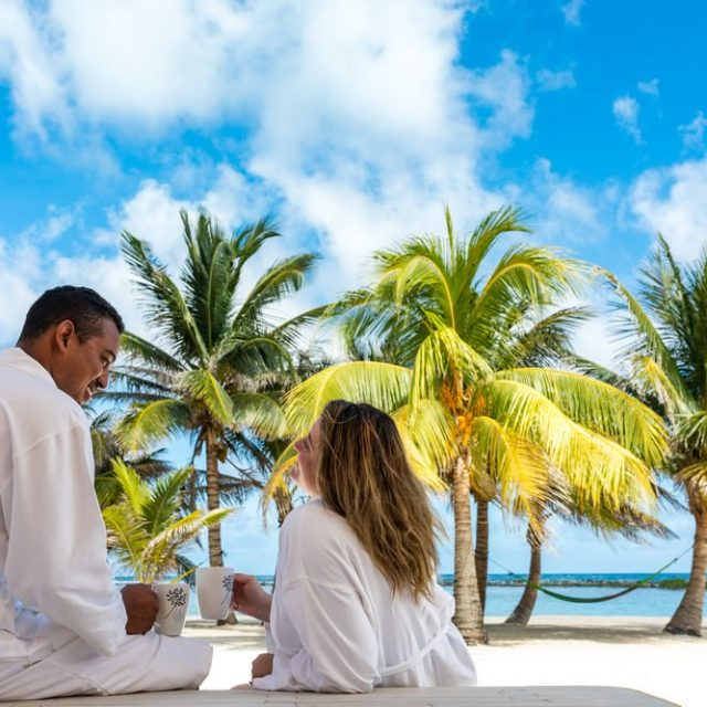 Manta Island Resort - Veranda View