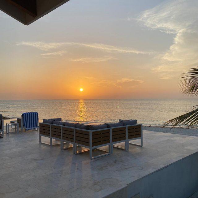 Sunset at Manta Island
