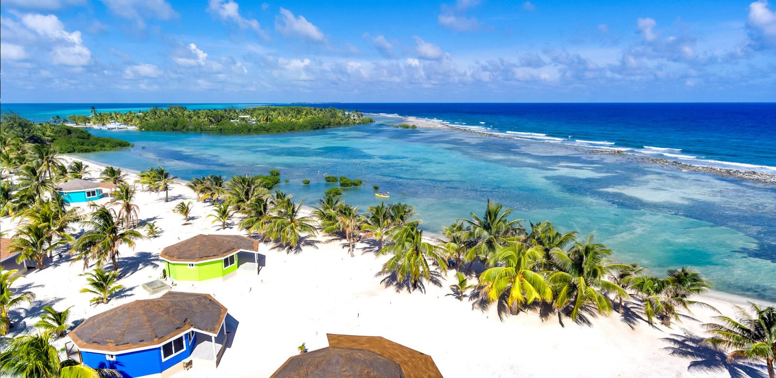 Belize Vacation Specials - Drone Image
