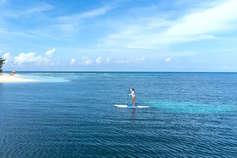 Manta Island Paddleboarding