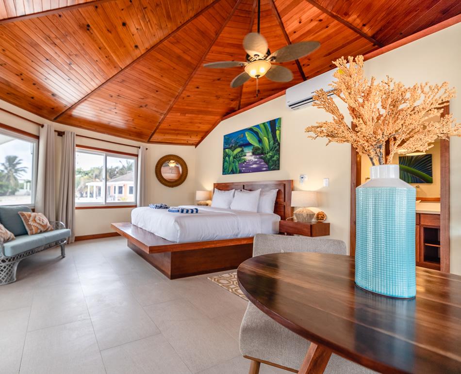 Manta Island Belize Accommodations