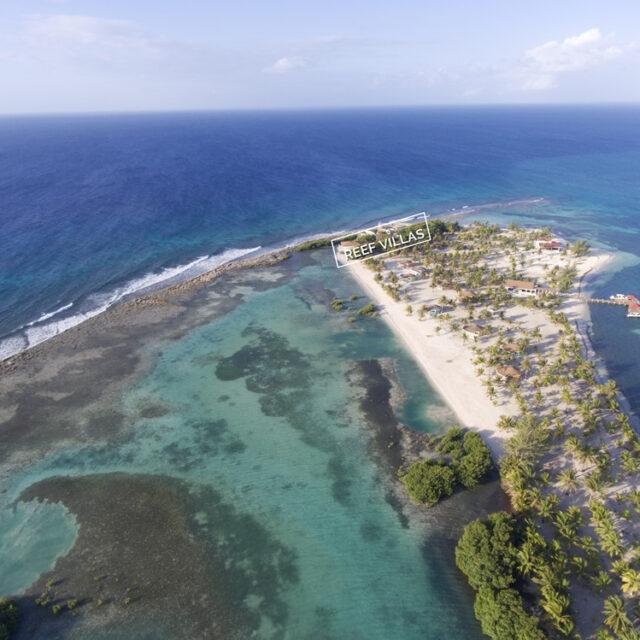 Belize Reef Villa -Drone Shot