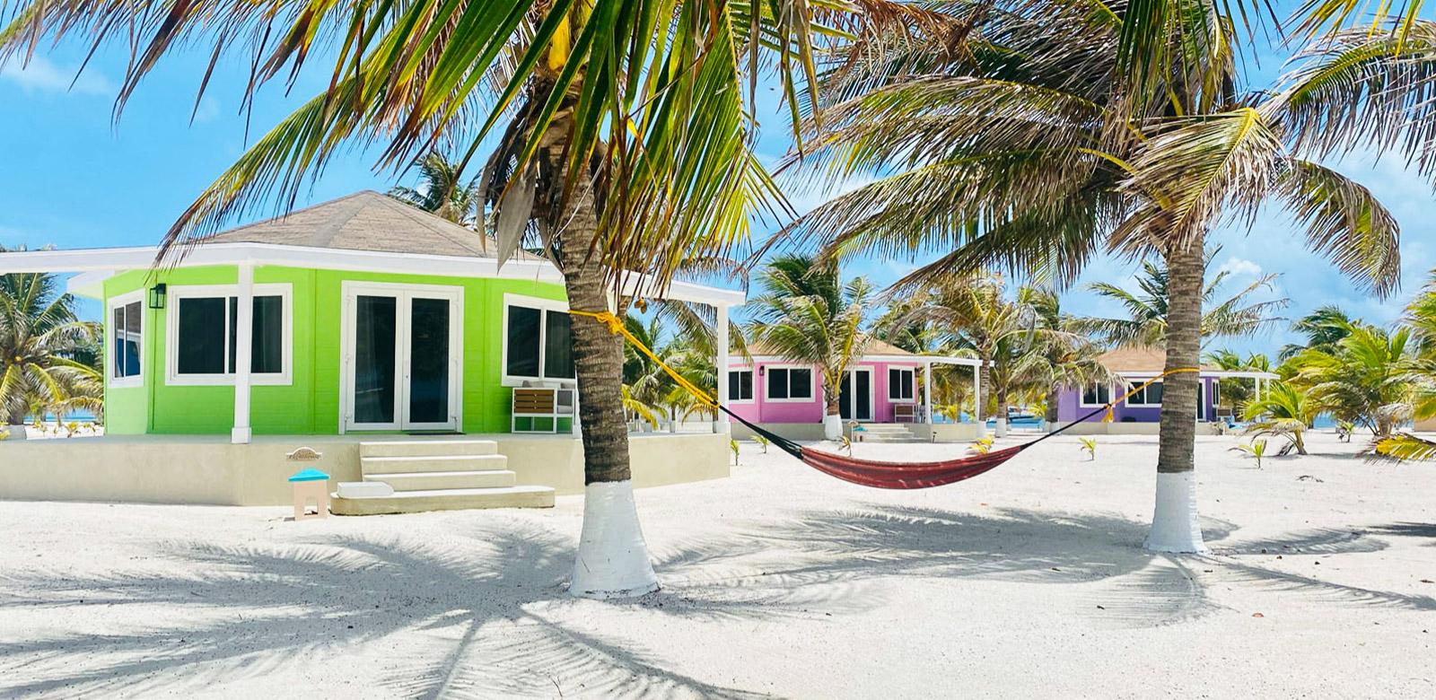 belize beach cabanas