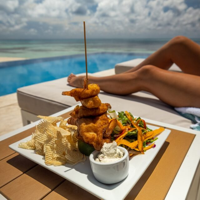 Snacks by the Pool