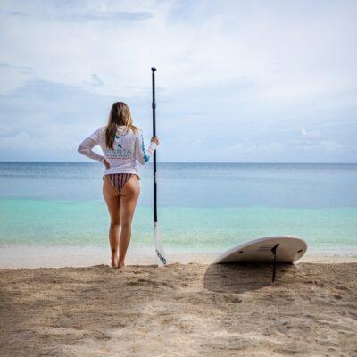 Paddle board at Manta Island