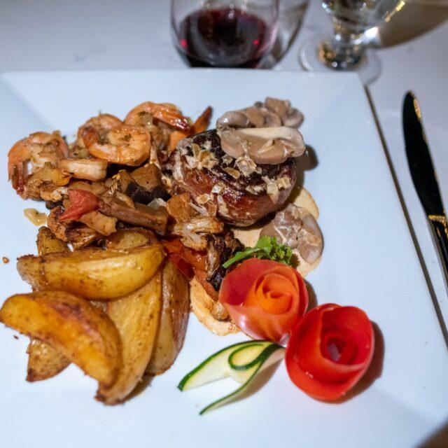 Supper at Manta, Belize