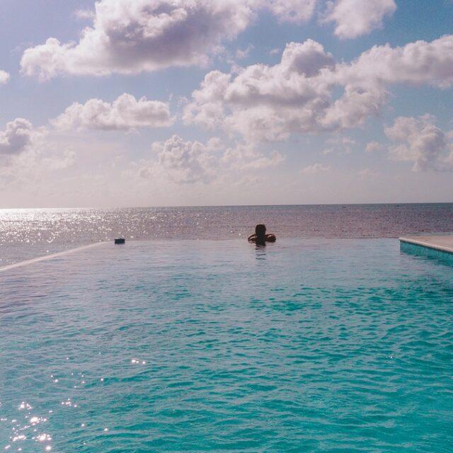 Pool at Manta, Belize