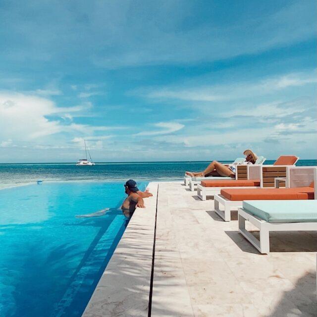 Infinity Pool at Manta, Belize