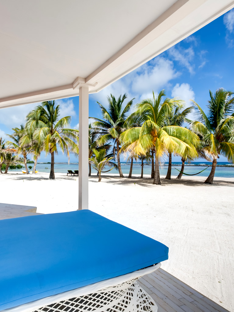 View from your private cabana