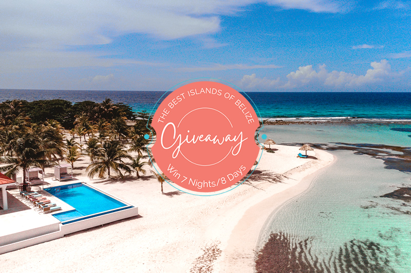 win a free belize vacation